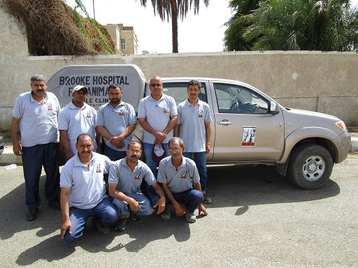 mobiele teams in Qena